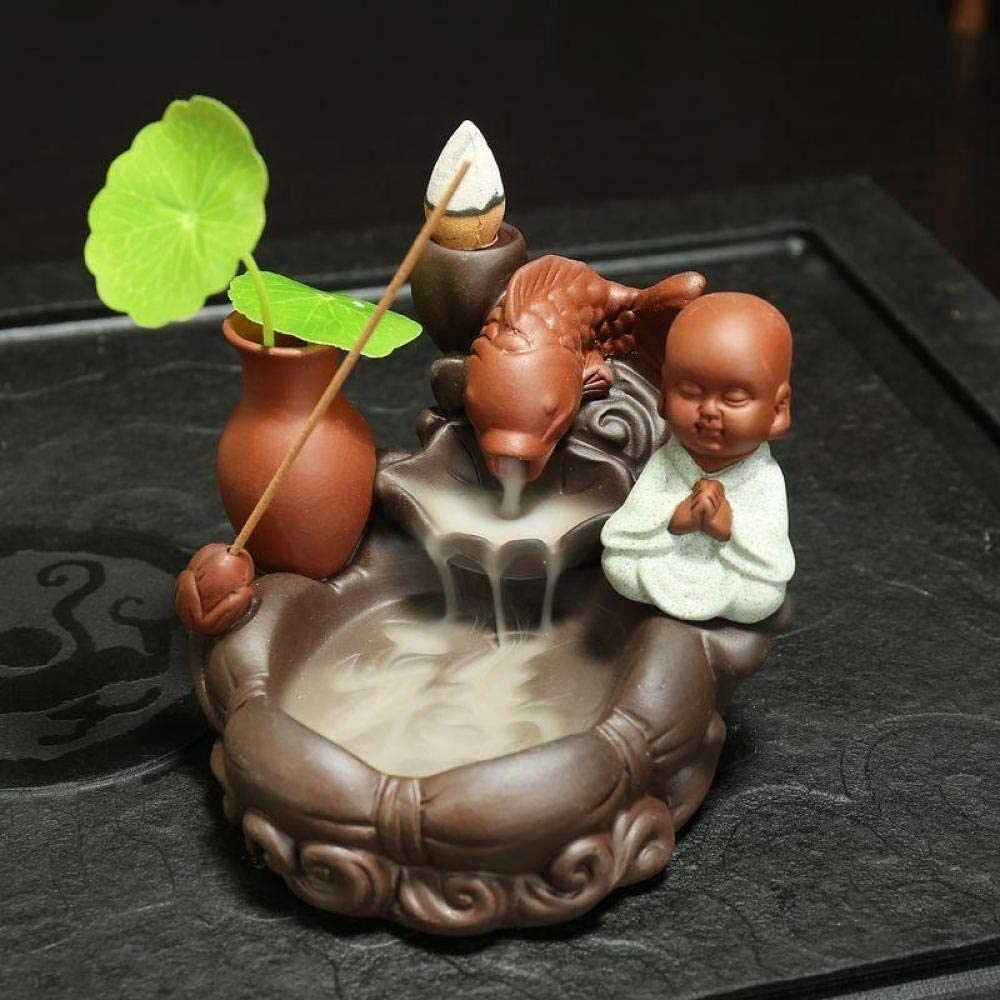 LHBNH Burner Year-end annual account Incense Monk I Ceramic Selling rankings Reflux