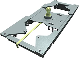 B and W GNRK1117 - Turnover Ball Gooseneck Hitch - 2017-18 Ford Super Duty 4WD - Head and Rails - Complete Kit