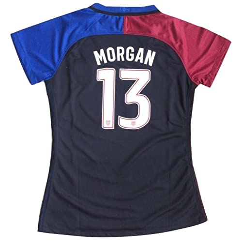 06db45cf9 2016-2017 Alex Morgan  13 USA National WOMEN S Away Jersey (Medium)