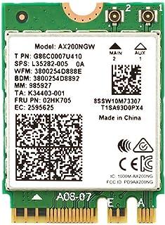 راديو ثنائي النطاق راديو M.2 واي فاي 6 AX200 2974Mbps بلوتوث 5.0 802.11ax MU-MIMO NGFF بطاقة الواي فاي شبكة الكمبيوتر المح...