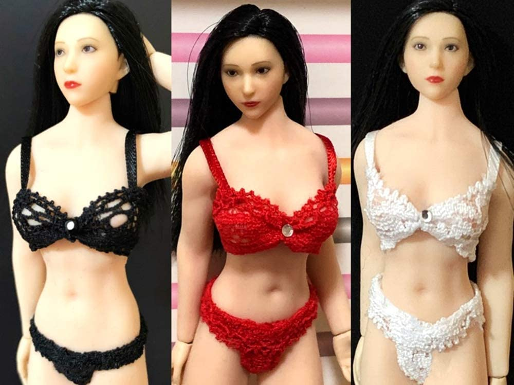 """1//6 Scale Female Bra Big Bust Underwear Clothes Model for 12/"""" Figure Action Body"""
