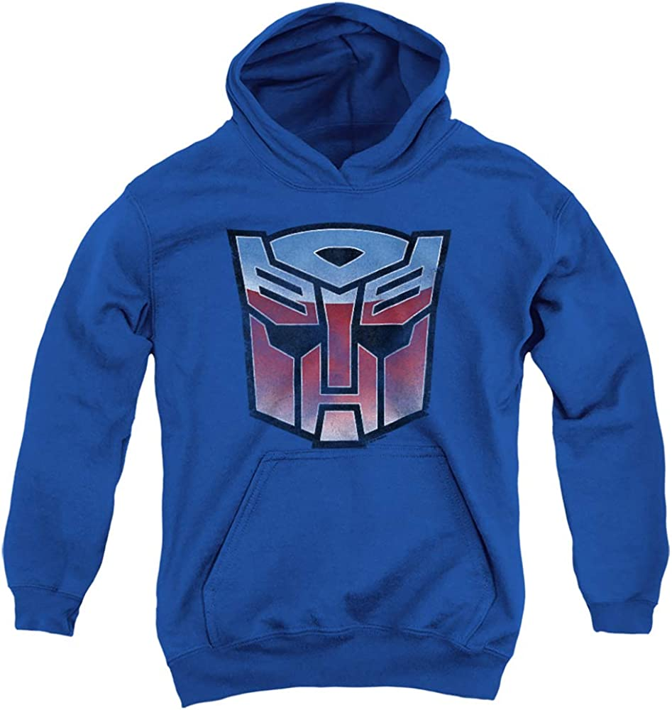 Transformers Vintage Autobot Fort Worth Mall Logo Credence Pull-Over Unisex Youth Hoodie