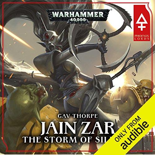 Jain Zar - The Storm of Silence: Warhammer 40,000 audiobook cover art