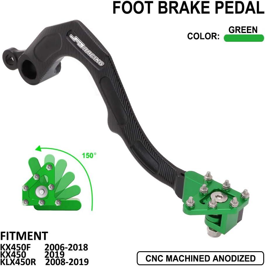 JFG RACING Rear Brake Foot free Boston Mall Pedal 2006-2018 KX450F KX Lever For