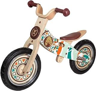 "WOOMAX - Bici sin pedales en madera Indian 12"" ("