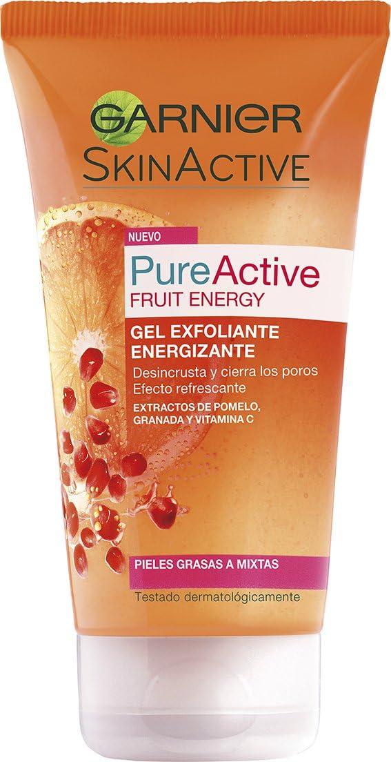 Garnier Skin Active Pure Active Fruit Energy Gel Exfoliante Energizante
