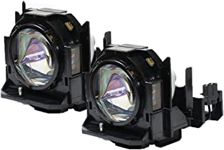 Panasonic PT-DX800S Projector Compatible Twin-Pack Projector Lamps
