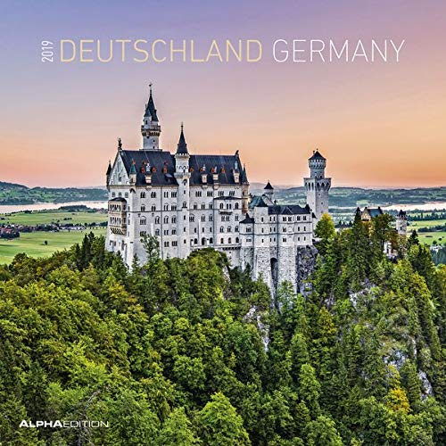 Deutschland 2019 - Germany - Broschürenkalender (30 x 60 geöffnet) - Landschaftskalender - Wandplaner