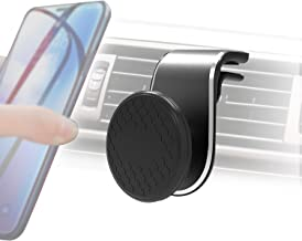 Car Phone Holder, Universal Magnetic Air Vent Mount Kit 360° Rotation Black for All Smartphones,iPhone Xs/XR/XS MAX/X 8 Pl...