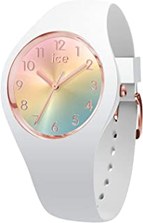 Ice-Watch Womens Analogue Quartz Watch with Silicone Strap 15743