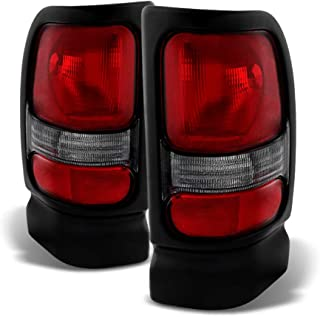 ACANII - For 1994-2001 Dodge Ram 1500 Pickup Replacement Tail Lights Lamps 94-01 Left+Right