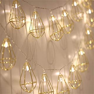 Novelty Hot Air Balloon Fairy String Lights with 30 LED, Battery Operated Warm White Twinkle Christmas String Lighting for Wedding,Party,Festival,Home Decoration 15ft/4.5m