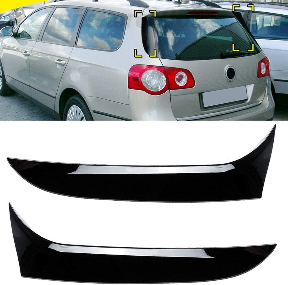 Popular popular Time sale Three T Car Rear Window Spoiler Side Co Splitter Cover Trim Wing