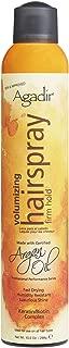 AGADIR Argan Oil Volumizing Hair Spray Firm Hold, 10.5 Oz