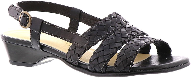 David Tate Bellissima Woherren Sandal 8.5 B(M) US schwarz