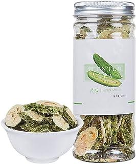 Bitter Melon Tea,Organic Nature Sun-Dried Bitter Gourd,Loose Slice,Chinese Flora Herbal,Kugua-40G