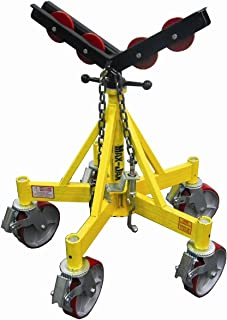 Sumner Manufacturing 781403 Max Jax Kit, Includes Basic Stand, Roller Head Kit and Casters, 2,500 lb. Capacity