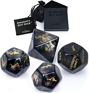 Sex Dice Sex Game for Adult Couples Prime with 34-Position Booklet   Sex Toys & Games for Adults, Beautifully Gift Package...
