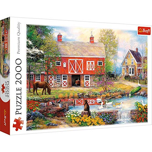 Trefl- Puzzles 2000 Puzzels, Color Coloreado (27106)