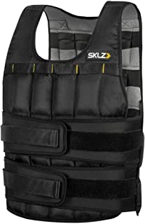 Sklz Weighted Vest Pro. Equal Weight Distribution, Flexible Water-Proof Weights And Can Convert Into A Sandbag - 20 lbs, M...