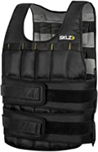 Sklz Weighted Vest Pro. Equal Weight Distribution, Flexible Water-Proof Weights And Can Convert Into A Sandbag - 20Lbs, Multi Color (ANTQQQSKL098)