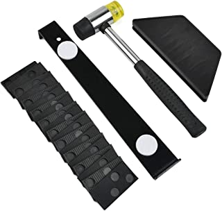 Sponsored Ad – 33 Piece Set of Wood Flooring Installation Tools, Laminate Flooring Accessories Tool Kit with 30 Gaskets Su...