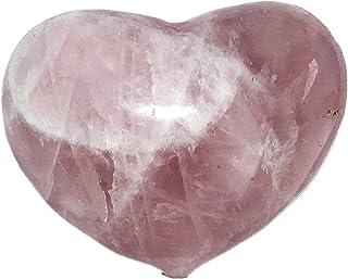 Crystal Natural Rose Quartz Crystal Stones Heart Shape Home Wedding Decoration Holiday Gifts Reiki Chakra Gemstone