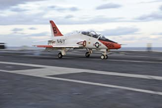 Posterazzi Atlantic Ocean October 30 2013-A T-45C Goshawk is launched from The Flight Deck of The Aircraft Carrier USS Theodore Roosevelt. Poster Print, (34 x 22)