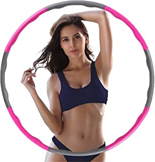 Brave Tarzan Beginner Hoop Health Hoop Hula Hoops for Adults and Kids-Weighted Hula Hoop for Exercise, Detachable Design- Professional Fitness Hula Hoop