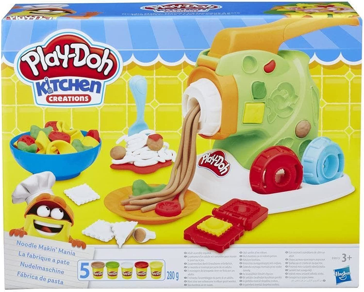 PlayDOH B9013EU40 Kitchen Creations Noodle Makin' Mania