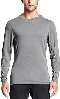 Mission Mens Mission Men's vaporactive Amplified Merino Long Sleeve Shirt MISFA17M031-P