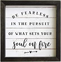 be fearless in pursuit