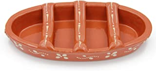 Traditional Portuguese Clay Terracotta Sausage Roaster (N. 3 Large)