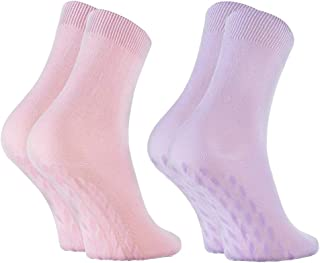 Rainbow Socks, Hombre Mujer Calcetines Antideslizantes de Bambu