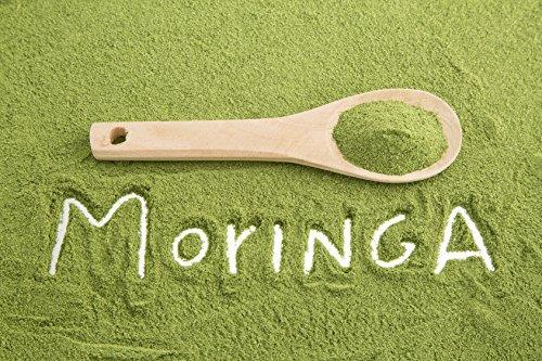 1 kg Moringa Blattpulver | Meerrettichbaum | Moringa | Pulver | Rohkost