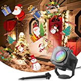 Dr. Prepare Christmas Projector Lights Outdoor, Holiday Projector Outdoor Projector Waterproof Landscape Lights with 12 Dynamic Patterns, Indoor Outdoor Decorative Lighting for Holiday Xmas
