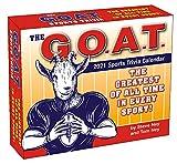 2021 G.O.A.T. Sports Trivia Boxed Daily Calendar