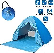 Voniry Automatische Draagbare Pop Up Beach Tent Goed geventileerde Outdoor Anti UV Sun Shelter met Rits Deur voor Kinderen...