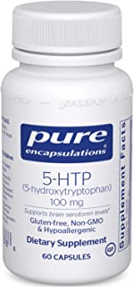 Pure Encapsulations 5-HTP 100 mg | 5-Hydroxytryptophan Supplement for Brain, Sleep, Eating Behavior, Mood, ...