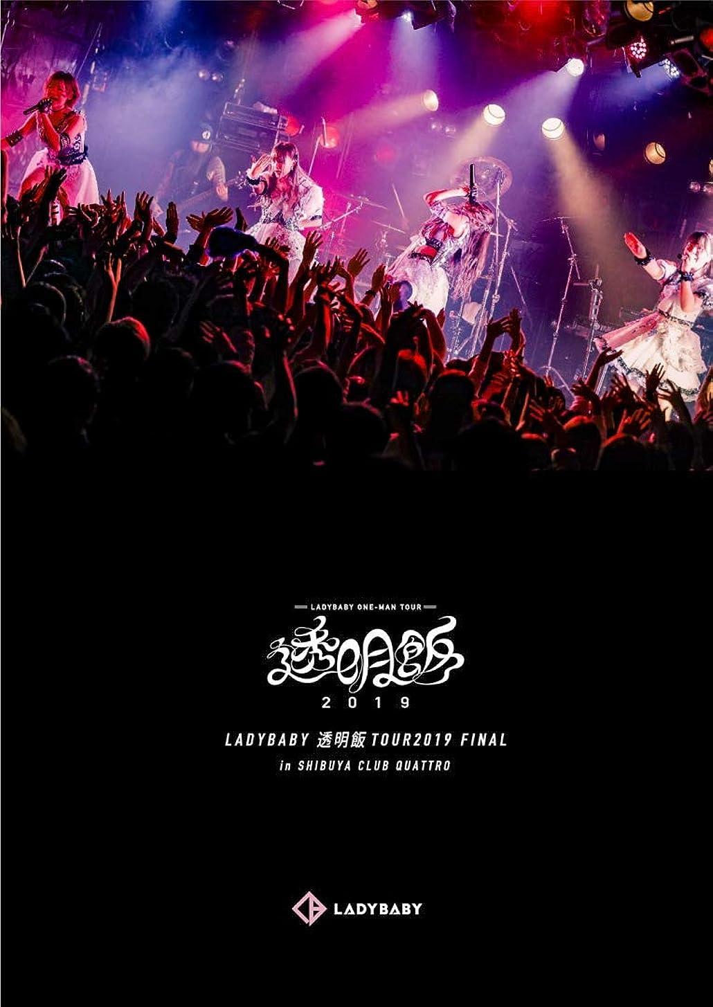 任命不一致同一の透明飯TOUR2019 FINAL in SHIBUYA CLUB QUATTRO [DVD]