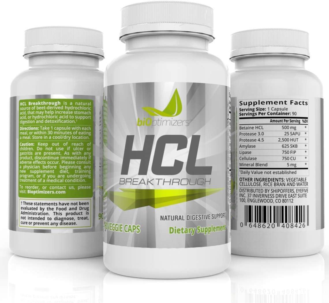 HCL Breakthrough BiOptimizers