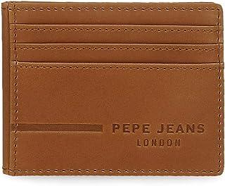 Pepe Jeans Ander Tarjetero Marrón 9,5x7,5 cms Piel