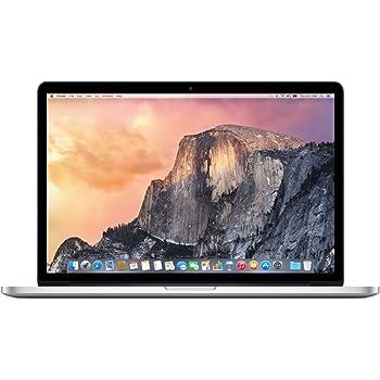 """Apple MacBook Pro, 15"""" mit Retina Display, Intel Quad-Core i7 2,5 GHz, 512 GB SSD, 16 GB RAM, 2014, Silber"""