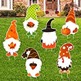 Fall Yard Stakes for Lawn Thanksgiving Fall Outdoor...