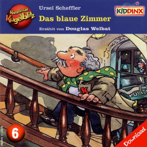 Das blaue Zimmer (Kommissar Kugelblitz 6) Titelbild