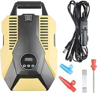 PSI, Bar, KPa e kg//cm2 palloni Moto per Auto Boomersun 12 V con Display LCD Digitale Compressore Elettrico Portatile per Auto Bicicletta
