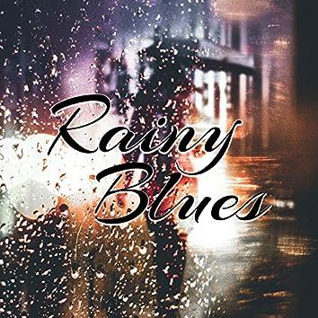 Rainy Blues: Bar and Lounge Mood, Best Guitar Blues Rhythms, Easy Listening