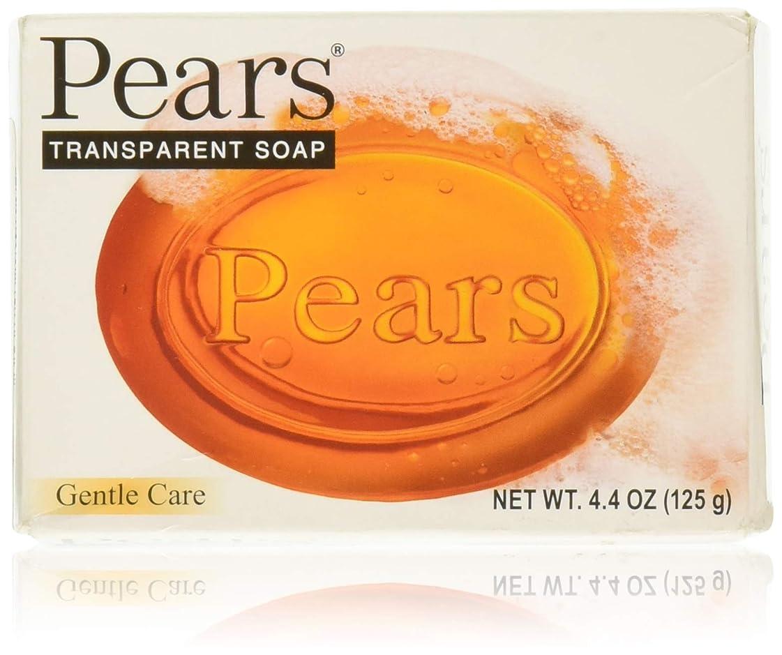 Pears ソープジェントルケアトランスペアレント4.4オズ 1パック