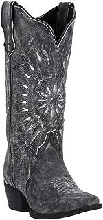 Women's Silver Starburst Cowgirl Boot Snip Toe