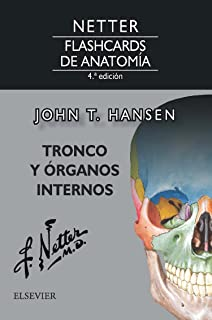 Netter. Flashcards de anatomía. Tronco y órganos internos - 4ª edición